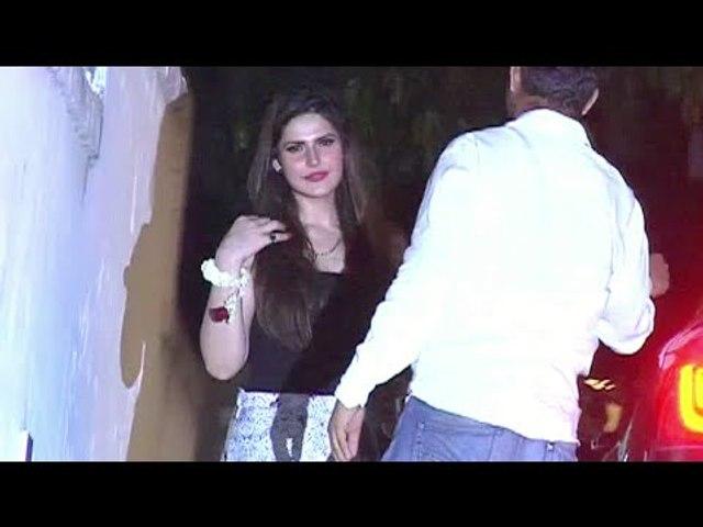 Zarine Khan caught DRUNKEN at Pre Christmas Party 2015