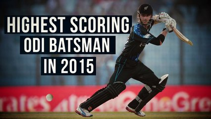 watch 6) Kane Williamson  Top 20 Players of 2015
