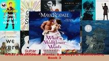 Read  What a Wallflower Wants Bad Boys  Wallflowers Book 3 PDF Online