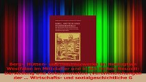 Download  Berg Hütten und Hammerwerke im Herzogtum Westfalen im Mittelalter und in der frühen PDF Frei