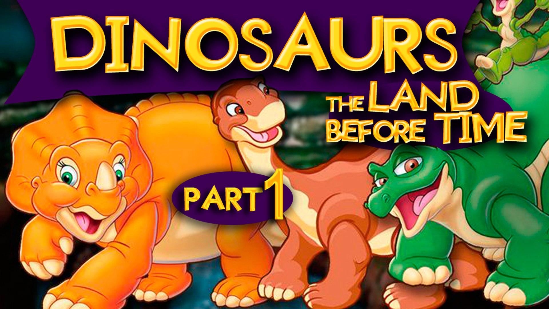 Dinosaur Movies For Kids Part 1 Learn Dinosaurs Cartoons Videos