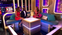 Melvin and Rochelle chat to Cheryl after 4th Impact's exit | Week 5 Results | The Xtra Factor 2015