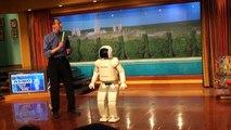 Disneyland Asimo - Walking Robot - Disneyland - Part 1 Disneyland Robot
