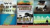 Read  DDay June 6 1944  The Climactic Battle of World War II Ebook Free