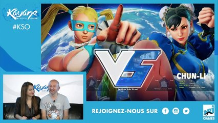 BEST - OF #1 Kayane Session Online avec Mamytwink et PP Garcia sur Overwatch et Street Fighter V !