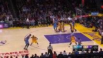 Kevin Durant Crosses Up Kobe Bryant Twice - Thunder vs Lakers - Dec 23, 2015 - NBA 2015-16 Season