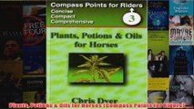 Plants Potions  Oils for Horses Compass Points for Riders
