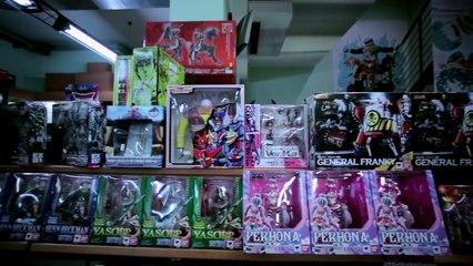 Itakon intervista Tamashii Nations @ Yamato Shop   Yamato Animation