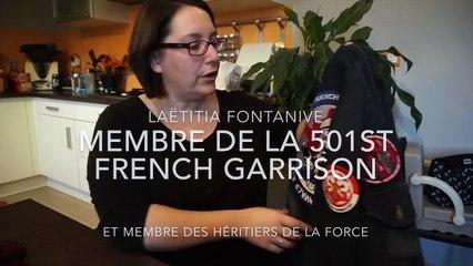 Laëtitia Fontanive, fan de Star Wars, membre de la 501st French Garrison et des Héritiers de la Force