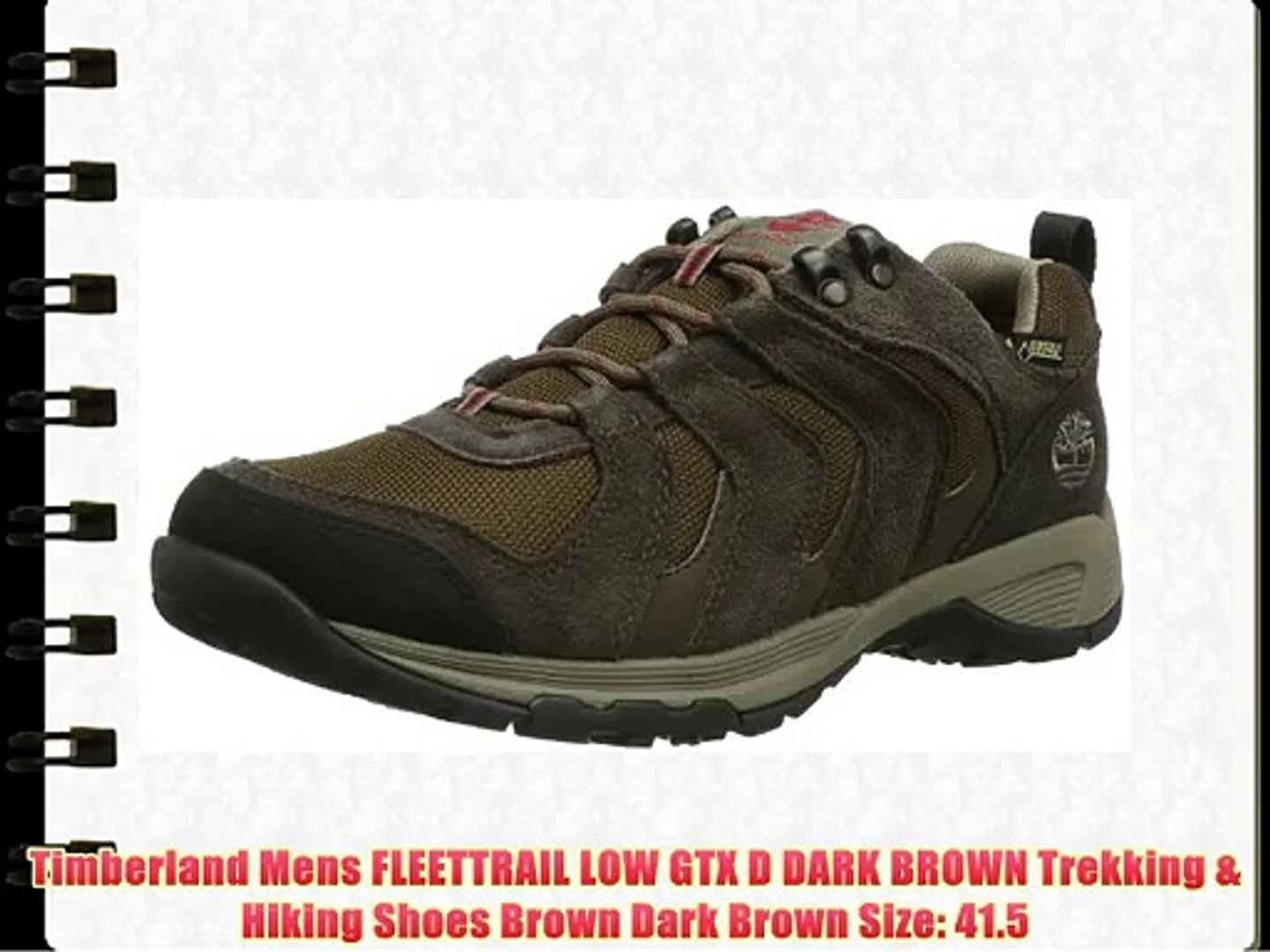 Dark Low Brown Trekking Mens Timberland D Fleettrail Gtx 0wO8XnPk