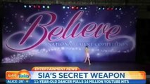 Maddie Ziegler Interview at Today Show About Being In Sias Music Video Chandelier