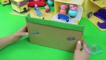 Toys Peppa Pig's Zip Line Playground Playset unpacking and playing Line Rider