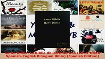 Download  Santa Biblia La Biblia de las Americas LBLANASB SpanishEnglish Bilingual Bible EBooks Online