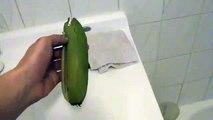 How To Peel A Banana the Right Way! (Like A Monkey)