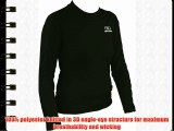 Highlander Women's Climate X Long Sleeved Tee Shirt Baselayer - Black Medium