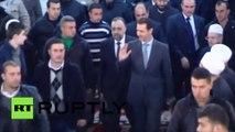 Syrie : Assad participe aux prières du Mawlid à Damas