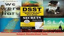 PDF Download  DSST Introduction to the Modern Middle East Exam Secrets Study Guide DSST Test Review for PDF Full Ebook