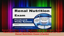 PDF Download  Renal Nutrition Exam Flashcard Study System Renal Nutrition Test Practice Questions  PDF Online