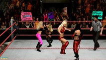 WWE Smackdown Vs Raw 2010 - Maryse Vs. Kelly Vs. McCool Vs. Melina (Divas Championship)