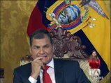 Correa reta a no votar por el correismo si se nota que se vulnera algún derecho con las enmiendas