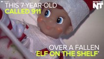 """7-Year-Old Calls 911 Over A Fallen """"Elf On The Shelf"""""""