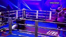 Andrew Thompson Vs. Ismael Lazaar (Kickboxing / Brutal K.O)