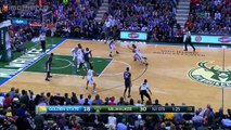 Golden State Warriors vs Milwaukee Bucks - 1st Half Highlights   Dec 12, 2015   NBA 2015-16 Season