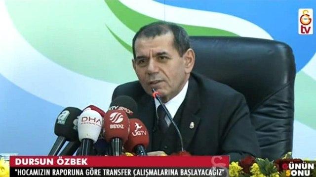 Dursun Özbekin açıklamaları (24 Aralık 2015 )
