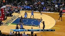 Karl-Anthony Towns With a Ferocious Put-Back Slam!
