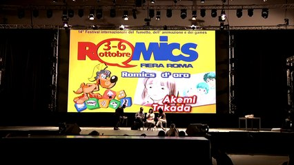 Akemi Takada: intervista allautrice di Creamy al Romics 2013