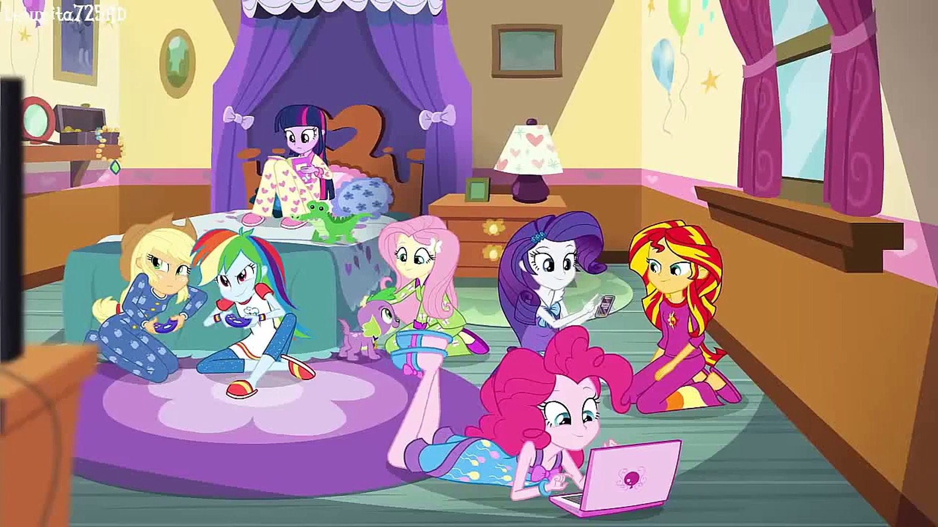 Image result for eqg sleepover""