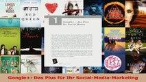 Lesen  Google Das Plus für Ihr SocialMediaMarketing Ebook Frei