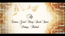 wedding invitation video, video invitation - classy marriage invitation video
