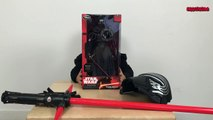 Star Wars Toy Unboxing - The Force Awakens Toys 2015 - Disney Star Wars 7 Kylo Ren Toy + L