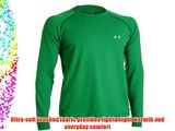 Under Armour Golf Gold Gear Infrared Golf Crew Baselayer 1236296 Green Large