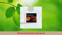 Read  Discovering the Universe Ebook Free