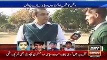 Ary News Headlines 16 December 2015 , Why APS Peshawar Student Thanks To Enemy