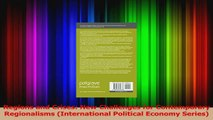 PDF Download  Regions and Crises New Challenges for Contemporary Regionalisms International Political PDF Online