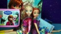 Surprise Frozen Disney Elsa Stickers Disney Princess Anna Glitter Stickers Toys Collection