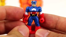 dippin dots Dippin Dots Surprise Play Doh Toys Peppa Pig Minions Captain America toys