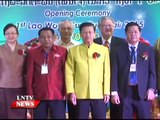 Lao NEWS on LNTV: The Lao Wood Furniture Fair 2015.7/1/2015