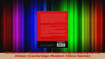 PDF Download  China since Tiananmen From Deng Xiaoping to Hu Jintao Cambridge Modern China Series Read Online