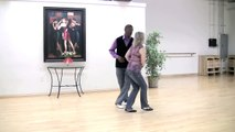 How to Dance the West Coast Swing : Demonstration of West Coast Swing Dance Steps