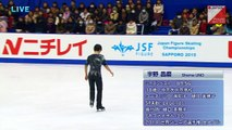 Shoma Uno - 2015 Japanese Nationals SP