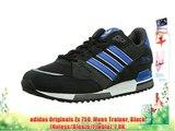 adidas Originals Zx 750 Mens Trainer Black (Noiess/Bleazu/Ftwbla) 7 UK