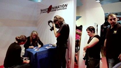 Intervista a Clara Serina - Lucca Comics 2013