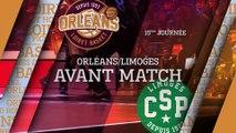 Avant-Match - J15 - Orléans reçoit Limoges