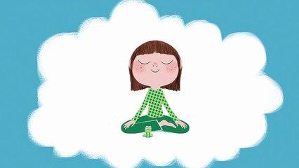 La petite grenouille, méditation pour les enfants