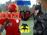 Batman vs. Ironman | The Ultimate Banana Rap Battle