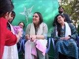 Bakhtawar, Aseefa Bhutto Zardari celebrate Quaid-e-Azam's Birthday, Christmas with special children